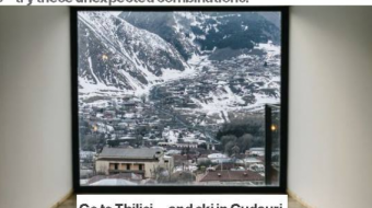 Go to Tbilisi … and ski in Gudauri- Bloomberg