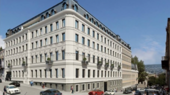 Construction of Hyatt Regency Hotel Begins on Rustaveli Avenue in Tbilisi
