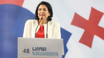 Salome Zurabishvili was donated 3 mln for the second round of elections