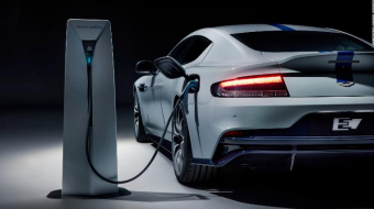 Aston Martin unveils its first electric car