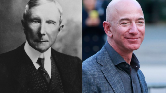 Rockefeller Was Almost Three Times Richer Than Bezos