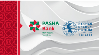 PASHA Bank sponsors 8th Caspian Energy Forum Tbilisi – 2019