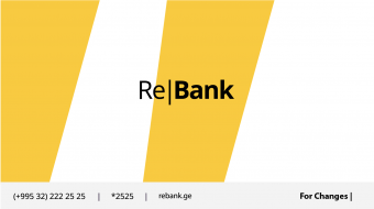 Re|Bank – New Retail Banking Service in Georgia