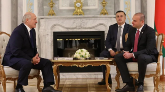 Georgia's PM met  President of Belarus