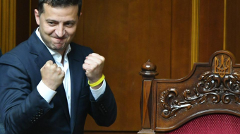 Almost 80% of Ukrainians trust in Zelensky – poll
