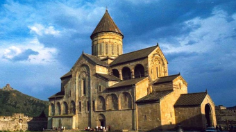 Georgia celebrates the day of Svetitskhoveli Cathedral today