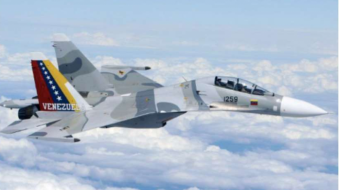 Venezuela loses another Su-30 jet fighter