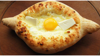Georgian khachapuri among  the world's best breads