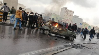 Iran petrol price hike: Protesters warned that security forces may intervene