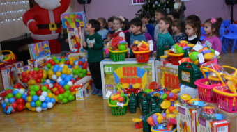 Kindergartens still continue to buy Chinese-made artificial toys