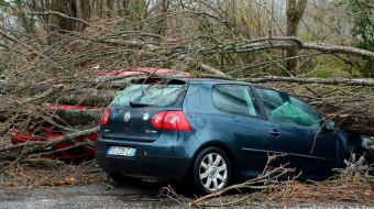 France: Winds, flooding leave thousands of homes without power
