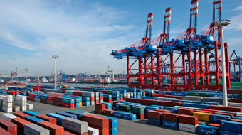 Container  handling in Georgian ports increased by 42.7%
