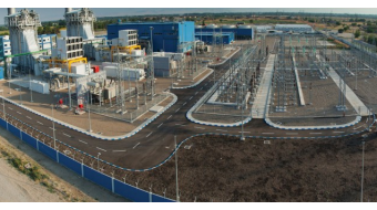 Georgia's PM opened a new thermal power plant in Gardabani