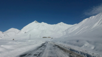 Traffic restricted on Gudauri-Kobi section