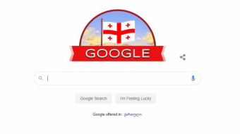 Google congratulates Georgia on its Independence Day
