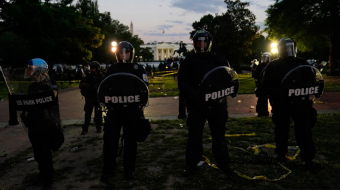 Trump taken to underground bunker as protests grew outside White House