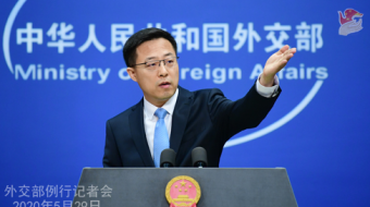 China warns U.S. it will retaliate on moves over Hong Kong