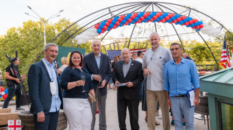 A festive 4th-of-July celebration was held to commemorate the 244th anniversary of U.S. Day of Independence at Ambassador Hotel traditionally initiated by the American Friendship Club