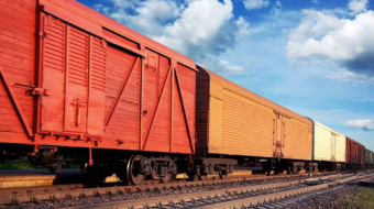 Railway freight transportation revenue increased for the first time in 6 years