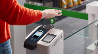 Amazon has introduced a contactless payment system by hand