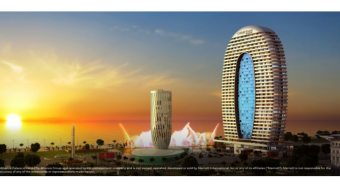 Batumi ALLIANCE PALACE, where COURTYARD by MARRIOTT will be located, to open in 2021