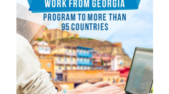 197 people  interested in working remotely from Georgia arrived in the country