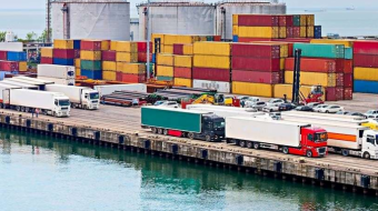 Shipping container freight rates soar