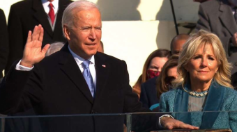Joe Biden sworn in as 46th president of US