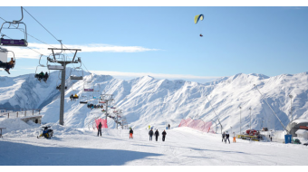Gov't not lifts restrictions on Georgian ski resorts