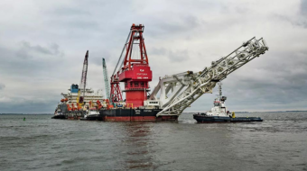 Russian ship resumes work on Nord Stream 2, despite US sanctions