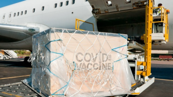 Flight operators will be able to use a special code for crucial vaccine flights