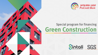 ProCredit Bank launches special Green Building Finance Programme with Sintali-SGS