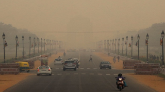 New Delhi is world's most polluted capital for third straight year - IQAir study