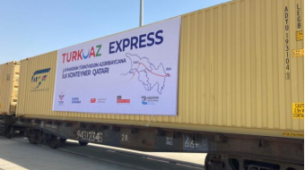 TURKUAZ express block train to run via the Baku-Tbilisi-Kars rail corridor