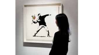 Sotheby's accepts cryptocurrency as Banksy art sells for $12.9M