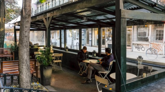 Outdoor dining  in Tbilisi to be exempt from lease payments until January 2022