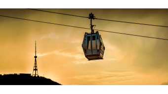 Tariff for travelling by ropeway will be GEL  0.50