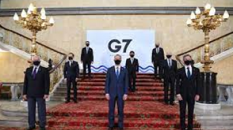 G7 nations to step up action on climate change and raise $100bn a year to help poor countries