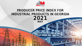 Producer Price Index for Industrial Products down 5.9 % in May 2021