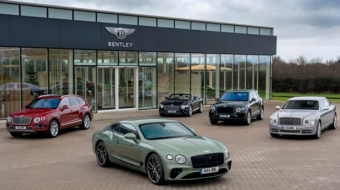 Bentley records highest half-year profit; beats all previous full-year figures