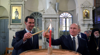 Putin and Syria's al-Assad hold talks in Moscow on rebel areas