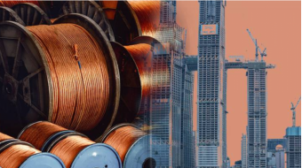 Copper falls as China's August imports hit over 2-year low