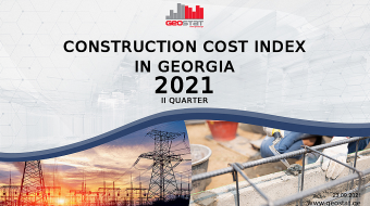 Construction Cost Index up 8.2 % in Q2