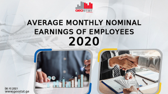Georgia's  average monthly nominal earnings up 5.4 percent in 2020