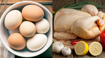 Imports of eggs and poultry meat down, exports up