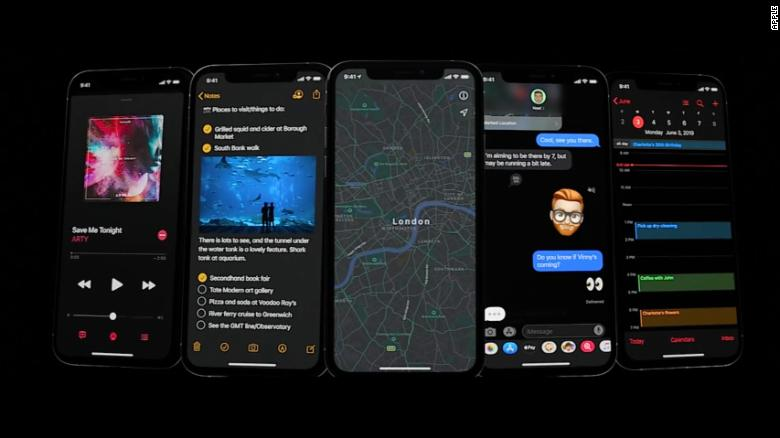 Apple is adding a new Dark Mode to iOS 13.